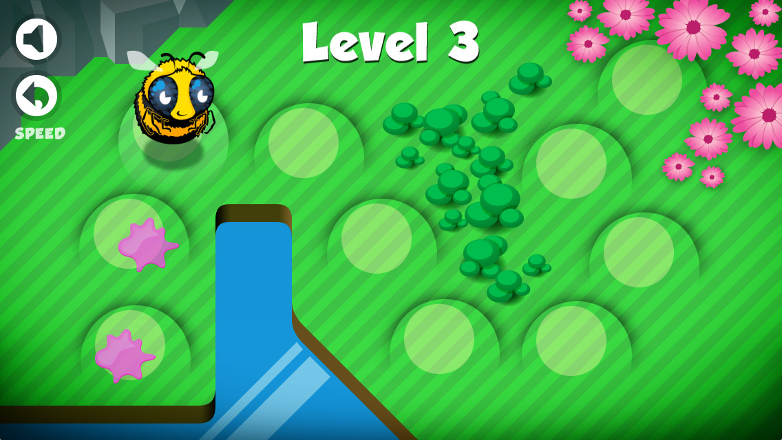Level overview Bumble Gum